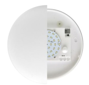 LED nouzové svítidlo 9W s PIR čidlem teplá bílá